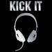 Apparel T-Shirts Fashion Designs: ''Kick It HEADPHONES''