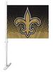 Car/Auto Flag/Flag - NFL New Orleans SAINTS Car Flag Logo