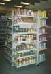 4 Sided Gondola - 7 shelves / side