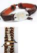 Wholesale Shell Made Faux Leather Zodiac BRACELET