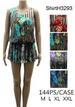Wholesale Super Short DRESS/Shirt with Floral Designs