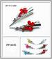 Wholesale metal HAIR CLIP with Flower design assorted colors