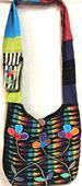 Wholesale Nepal Handmade RAZOR Cut Multicolor Hobo Bags