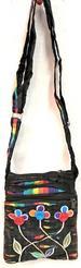 Wholesale RAZOR Cut Multicolor Small Handmade Sling Bags