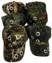 Wholesale Camo BALL CAP/ adjustable baseBALL hat *Bullet Holes*