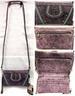 Wholesale Purple Rhinestone American Bling CLUTCH Purse