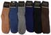Wholesale Solid Color Men Fuzzy Socks Assorted Colors