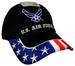 Wholesale LICENSED US Air Force Hat with USA on Brim Embroideried