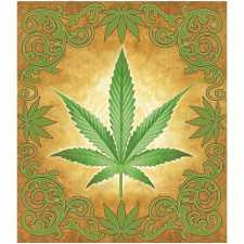 Sacred Herb Luxury BLANKET