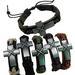 Metal Cross LEATHER Bracelet