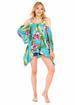 Turquoise Beach Poncho DRESS