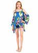 Blue Beach Poncho DRESS
