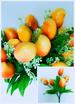 Artificial Plastic FLOWERS Fruits Mango 5 Heads