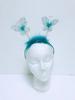 HEADBAND Hair Band Butterfly Blue