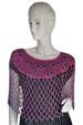 JEWELRY Poncho with Color Beads