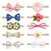 KeaBabies Bows and Headbands (Garden Party)