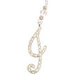 Initially Yours© Letter CHARM / Ornament - ''I''