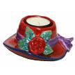 RED HAT Tea Light Holder - Rose