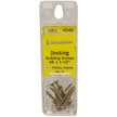 Pik-A-Nut© #8 Decking Building SCREWS - Pack of 10