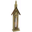 Hanging BIRDHOUSE Thermometer