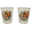 Hipster's Choice© Monkey Shot GLASSES - Set of Two