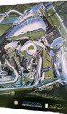 HARLEY DAVIDSON® Poster -- ''Reflections on Canvas''