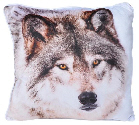 PILLOW:  Printed Wolf PILLOW