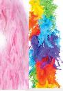 6' FEATHER BOAS 60gr - Rainbow