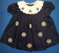 ''Baby Anita''  Fur-Embroidered Girls DRESS:  12-24 Mos.