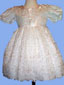 ''RACHEL'' Girls White   Pageant DRESS -  Sizes: 1-4