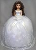 Quinceanera 16'' Porcelain Doll - White DRESS   (USA)