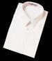Boys Short Sleeves Oxford DRESS Shirts - Sizes:  Husky  (i905)