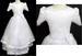 Girls Flower Girl DRESS With Silk Flowers - Sizes: 8 - 16
