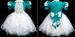 ''Paolina'' Girls Pageant DRESS - Teal Color