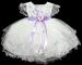 ''Baby Rachel'' Embroidered Pageant DRESS - Lavender (9-24 Mos)