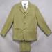 5Pc Boys  DRESS Suit  - Olive Color. Sizes: 16-18  ( # 5956-O)
