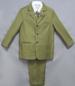 Boy 5Pc DRESS Suit  - Olive Color - Sizes: 8-14 ( # 5956-O)