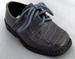 Boys Faux Crocodile Leather SHOES - Silver Grey (Toddler)