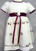 Girls Embroidered Organza DRESS - Sizes: 2-10