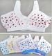 Girls Trainer BRA Tops In Prints - Sizes: 8-12  ( # 8004)