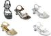 Girls  Party SHOES With Rhinestones  -  (Sizes: 5 - 8)