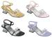Girls DRESS Shoes With Rhinestones Butterfly -  White Color