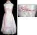 Girls Fancy DRESS With Scarf - Pink Color ( Sizes: 4-14)