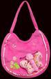 Girls Embroidered HANDBAG  - Pink Color  ( # CP1006)