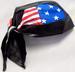 Head Wrap  - DOO RAG  - Biker Skull Caps ......... US Flag