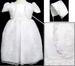 Girls Christening DRESS With Cap - Sizes: 6 - 30 Mos.