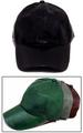 Faux LEATHER Baseball Caps For Adults - In Solid Colors