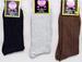 ''King'' Mens Cotton Ribbed DRESS Socks - In Color (#1416)