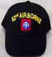 Military Embroidered CAP - BALL CAP ........ 82nd Airborne