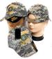 Embroidered LICENSED Camouflage Military Caps - US Army Retired
